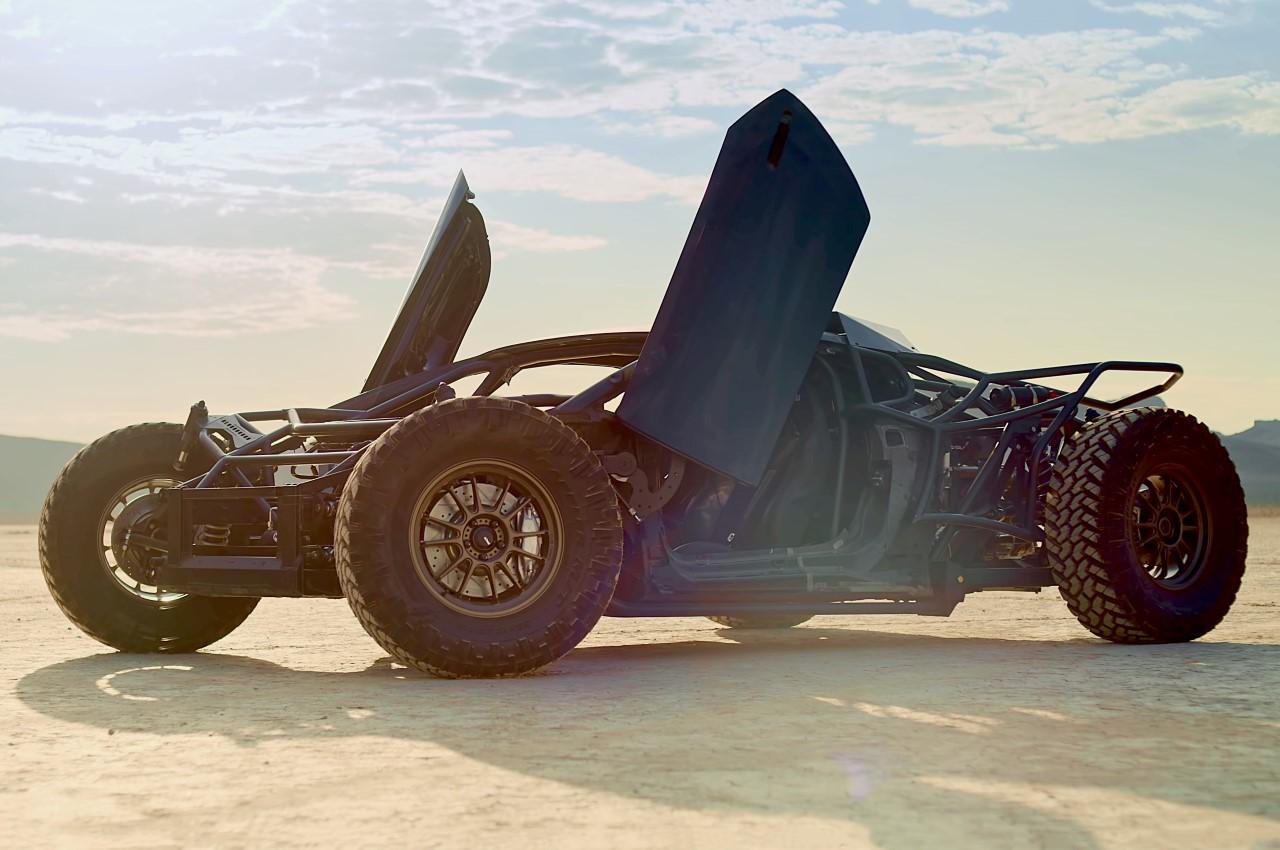 Jumpacan - Lamborghini Huracan Custom Off-Roader