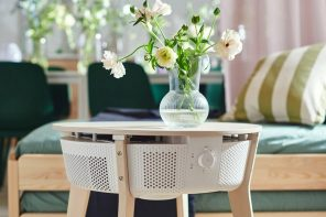 IKEA furniture gets smarter with this air purifier disguised as a side table!