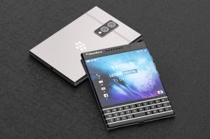 BlackBerry Passport 2 concept images emerge, sporting iconic physical QWERTY keyboard + a dual-lens main camera