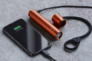The most versatile and useful flashlight on the planet has a magnetic mounting system and an internal power bank
