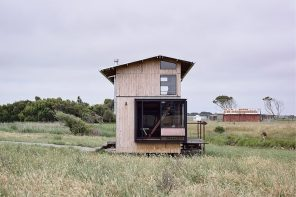 This tiny passive home saves and creates space with an expandable roof and multifunctional furniture!