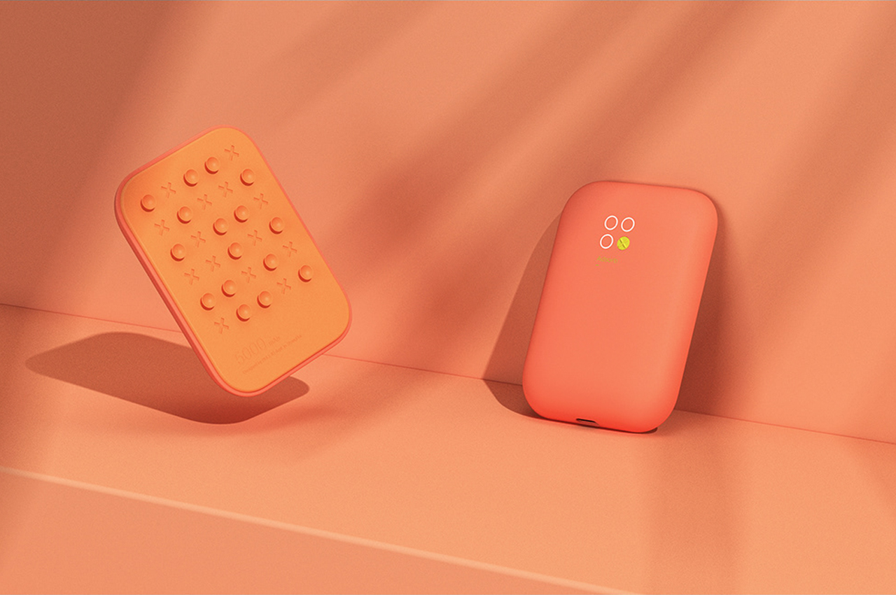 Wireless Power Bank with Suction Cups