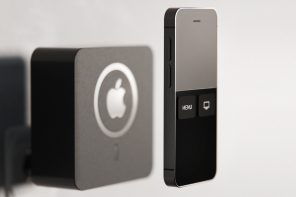 Apple TV with built-in power plug features MagSafe charger to wireless power its iPhone-style remote