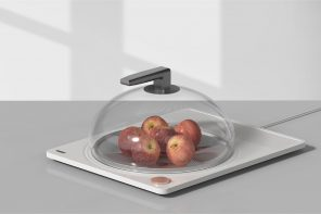 This food storage concept features an intuitive control design so we can always keep our leftovers!