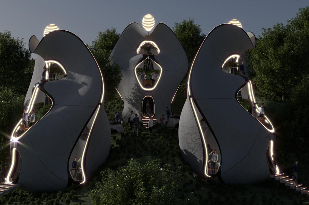 Case prefabricate din oțel printat 3d