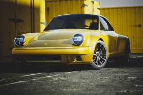 This wild Porsche 930 Restomod comes with an electric powertrain and a spunky new design