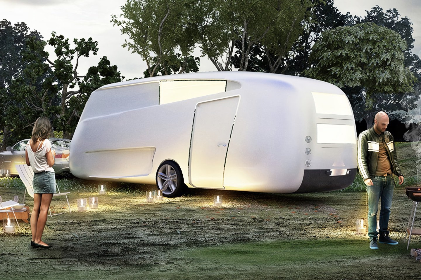 Trailers designed for the modern nomad to meet their outdoor glamping needs!