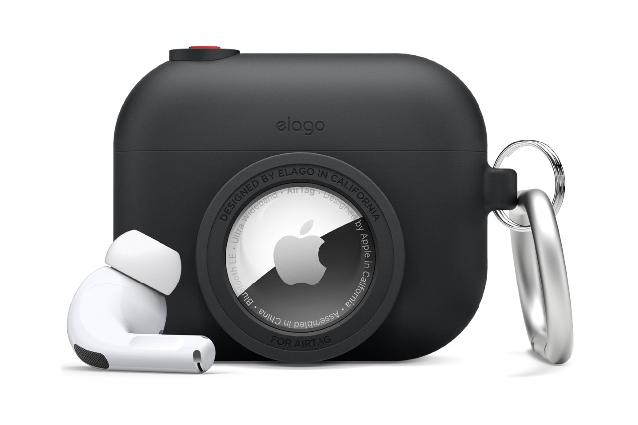 Elago Snapshot Apple AirPods Case with AirTag