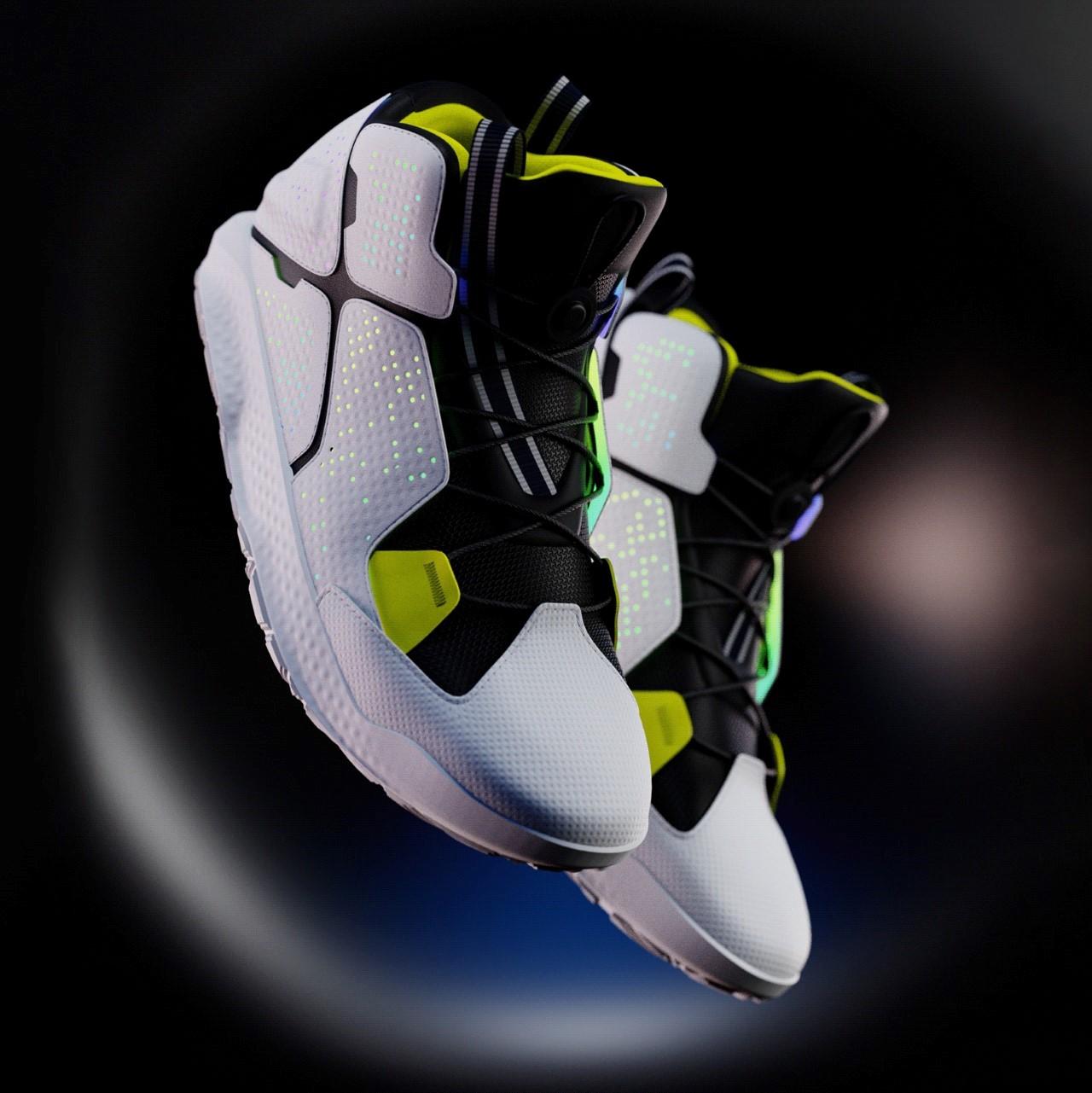 TOKIO Futuristic Sneakers by Juan Vegas