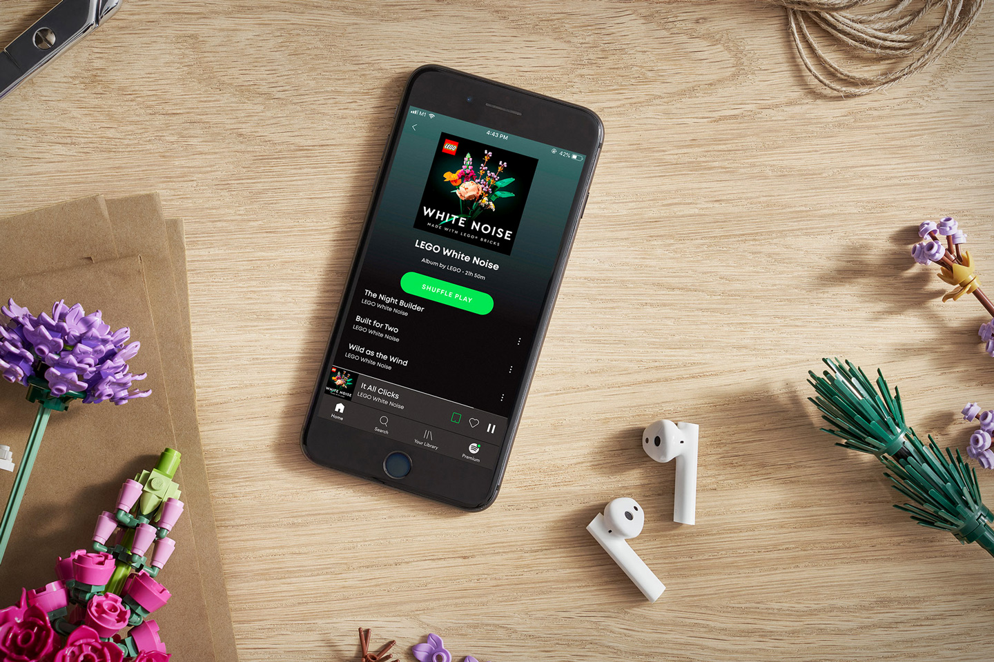 LEGO just dropped a Spotify album… and it's filled with hours of soothing ASMR soundtracks made using LEGO bricks