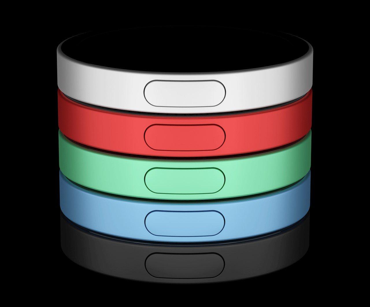 Apple iPod Nano Circular Concept by Andrea Copellino