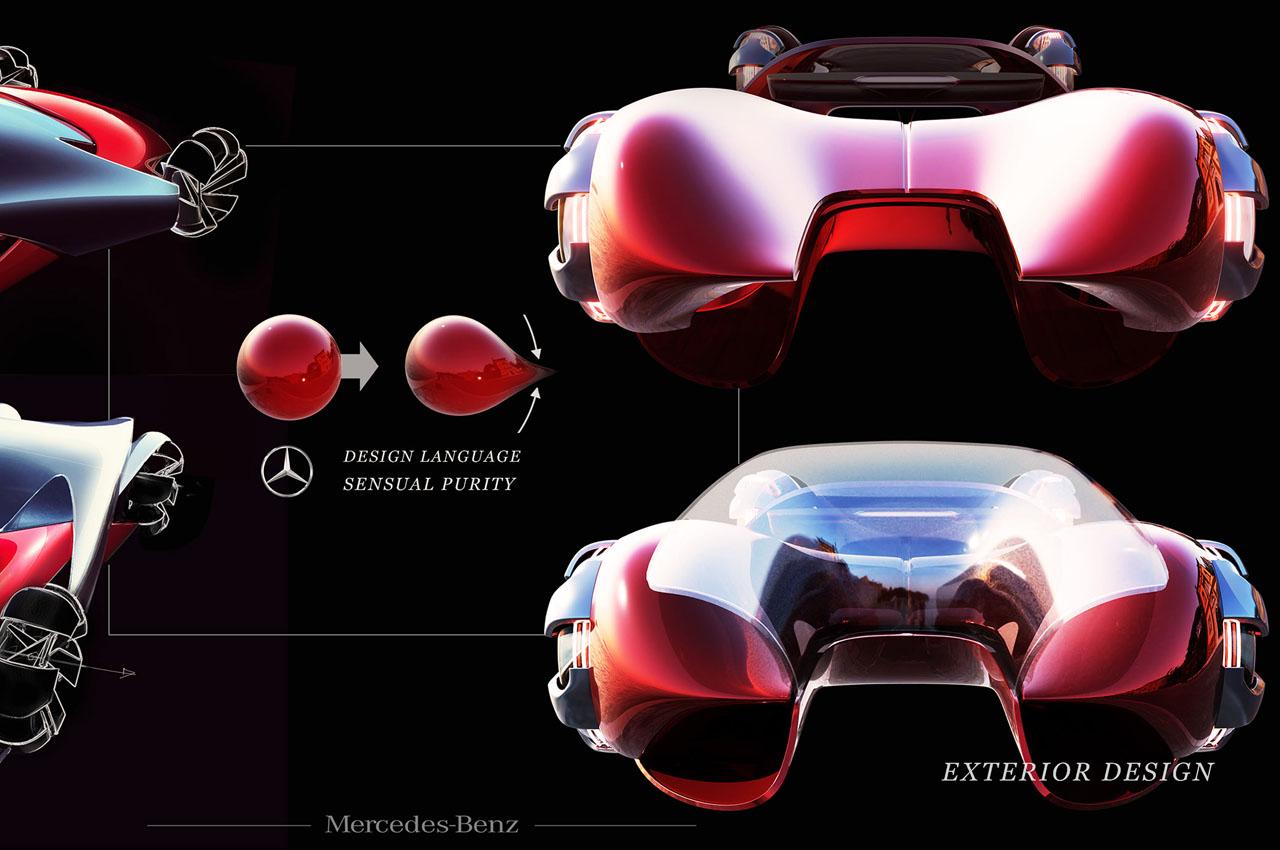 Mercedes-Benz EQX Concept by Xiqiao Wang