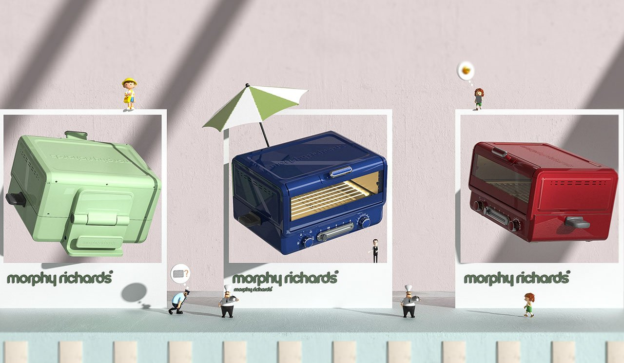 Morphy Richards Multi Oven Concept by Souther ID