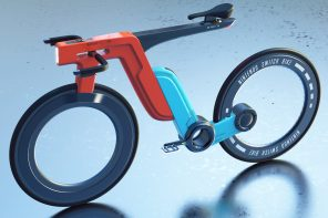 A sleek Nintendo Switch Bike like this would tempt the gamers to step out and play!