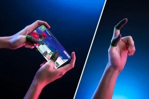 """Razer's patently absurd """"finger gloves"""" let you play mobile games without getting sweaty thumbs"""