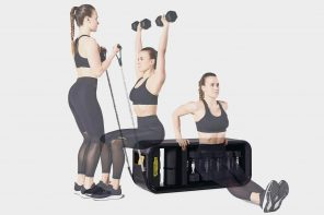 This versatile furniture is an all-in-one training bench that balances your home and fitness routine!