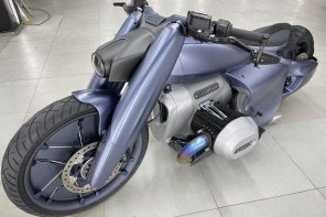 This muscular BMW R 18 is a design destined for the dystopian future!