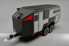 This off-road trailer upgrades your adventure experience without compromising on comfort or luxury