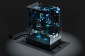 This sci-fi transparent PC case is a hypnotic symphony of beastly performance and killer looks