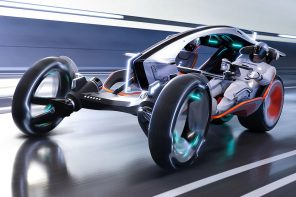 This wearable EV with the agility of a motorcycle + stability of a car is what we truly need in 2030!