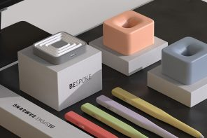 Samsung's bespoke series is the inspiration behind these ergonomic, thoughtful stylus designs