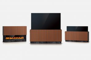 This shapeshifting TV turns into a virtual fireplace when you're not binge-watching Squid Games on Netflix