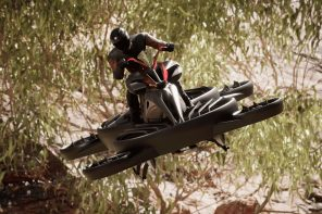 No need to wait for a flying car, this futuristic hoverbike is actually available for sale!