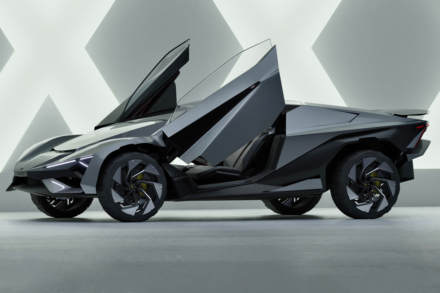The outrageous Lamborghini Xeno concept looks like it would make regular hypercars run back to their mommies