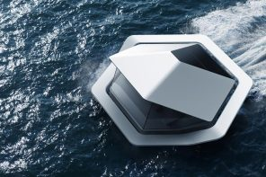 Sony's futuristic floating habitat shows what homes could look like in 2050!