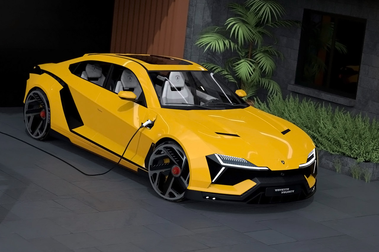 Sleek Lamborghini-inspired automotive concepts designed to perfectly capture the brand's raging bull spirit!