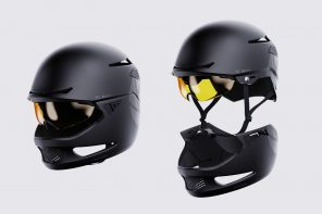 'Modular Cycling Helmet with a full-face attachment for motorbikes' secures Silver at the YD x KeyShot Design Challenge