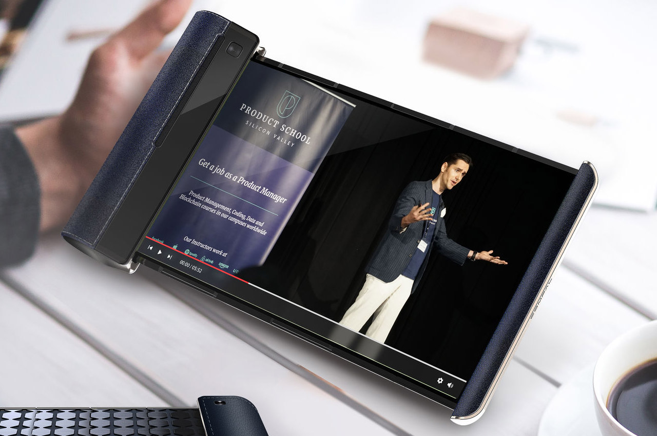 This rollable phablet brings the big screen experience to your pocket without any excessive bulk!