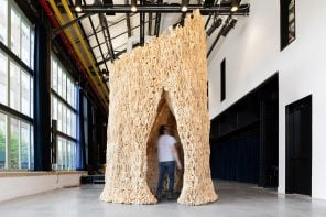 This sustainable structure is made of probiotic materials!