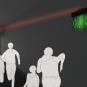 逃生燈背景圖