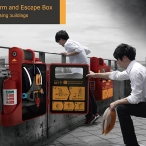 Fire Alarm and Escape Box for high-rising building by Cheng-Ming Wang, Cheng-Yu Tsai