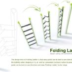Folding Ladder by Teng-Gao Shi, Yu-Juan Zou Guang-Ru Ji